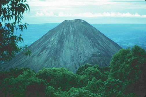Izalco Volcano from Cerro Verde National Park in El Salvador! Been here but don't remember seeing the amazing view!