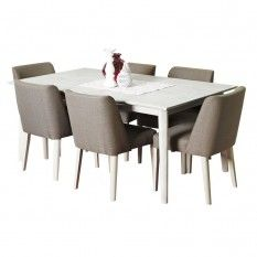 Seattle 7 Piece Dining Setting