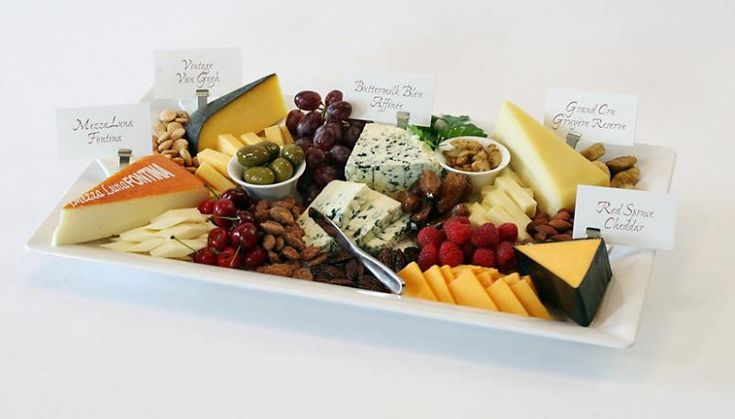 cheese plate plating - loving this one
