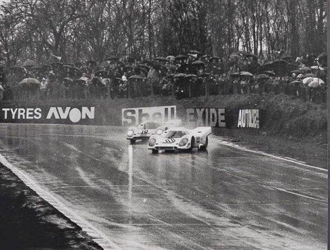 Drifting in real race cars!!!! Haha..., Classic Porsche 917-exiting Druids Hairpin Brands Hatch BOAC