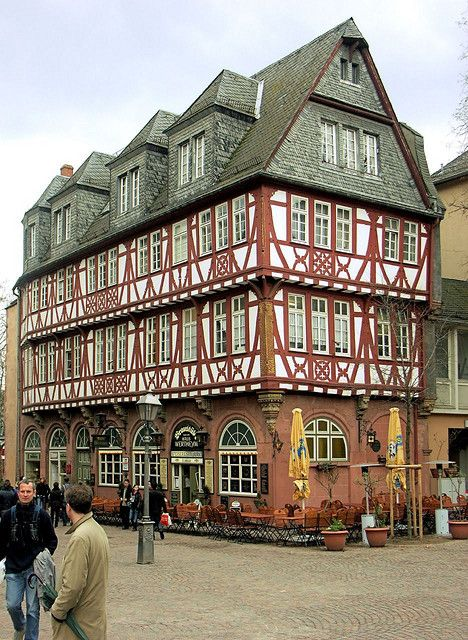 Frankfurt - Haus Wertheym. Our 25 tips for things to do in Germany: http://www.europealacarte.co.uk/blog/2011/11/21/what-to-do-in-germany/