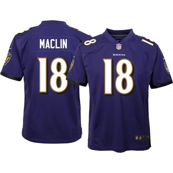 Nike Youth Home Game Jersey Baltimore Jeremy Maclin #18, Team