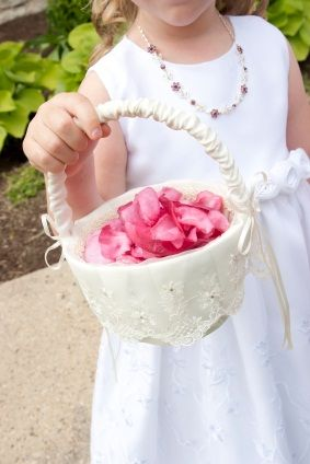 91 Best Images About Weddings Flower Girl Baskets On