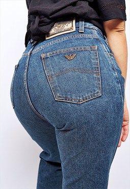 Vintage UNISEX 1980's Armani jeans