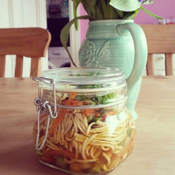 DIY Pot noodle- perfect for packed lunches and absolutely delicious