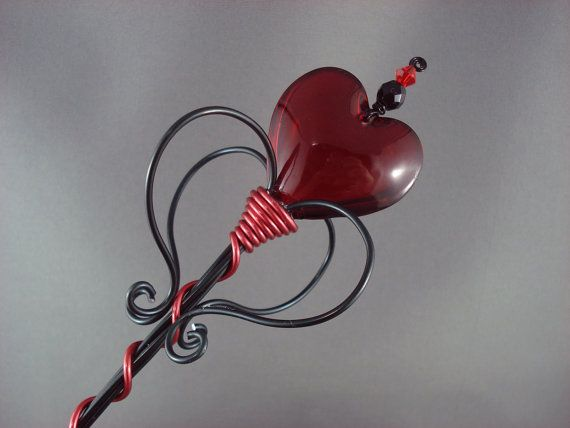 Queen of Hearts Sceptre - Made to Order