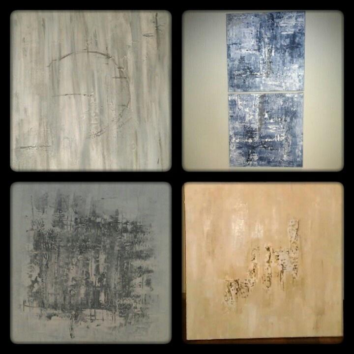 My acrylic paintings