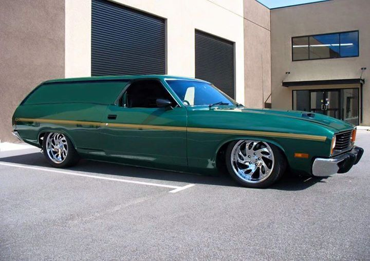 XC custom sports ute / van