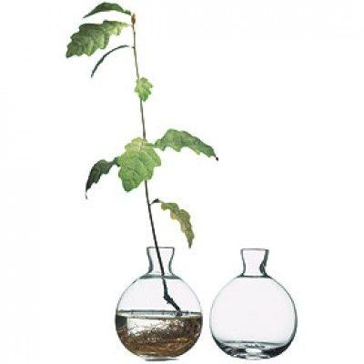 "Acorn vase via ""Svensk Tenn""."