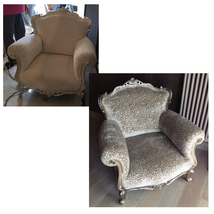 Restored armchair