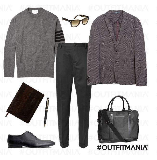 Business outfit: Giornalista   Blazer Zara e Pantaloni D&G    #outfitmania #outfit #style #fashion #dresscode #amazing #zara #blazer #job # giacca #borsa #pullover #montblanc   CLICCA SULLA FOTO PER SCOPRIRE L'OUTFIT E COME ACQUISTARLO