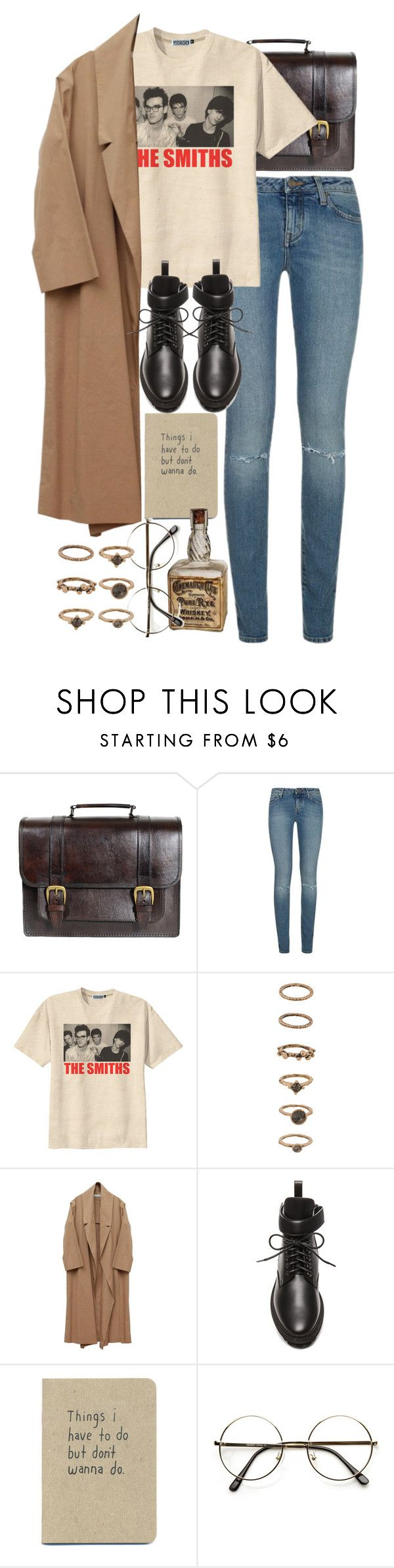 """""""Untitled #10082"""" by nikka-phillips ❤ liked on Polyvore featuring Beara Beara, Yves Saint Laurent, Retrò, Forever 21 and Balenciaga"""