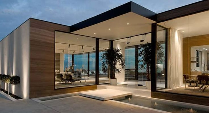 1. Modern is very similar to minimalist but this a little more maintenance. Modern has cantilevered edges on the architecture of the home and on the inside with the furniture.