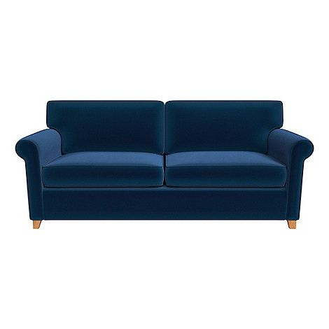 The perfect complement to a variety of decors, our 'Arlo' marries traditional charm with modern style. Available in a versatile mix of colours, this comfortable sofa bed features rolled arms that exude mid century sophistication and is finished in a soft and sumptuous fabric inspired by the touch of velvet.
