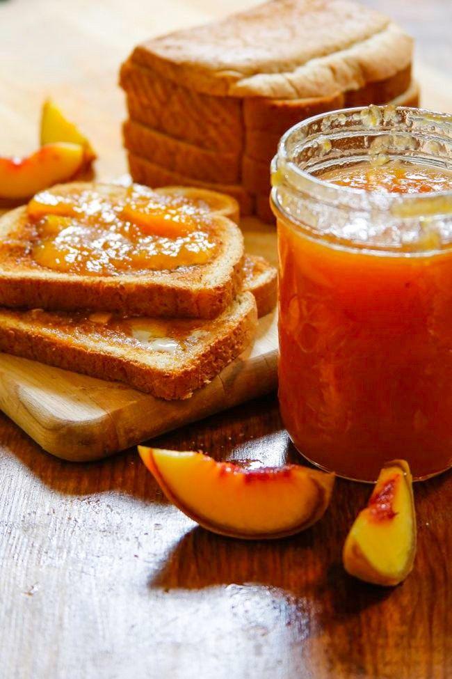 Easy Peach Jam Recipe