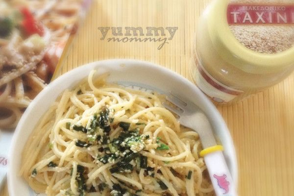 {spaghetti with tahini} / Μακαρόνια με ταχίνι