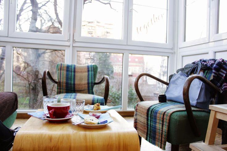 Samé Dobré Věci : Anglická kavárna Humpty Dumpty | na caj a zakusek