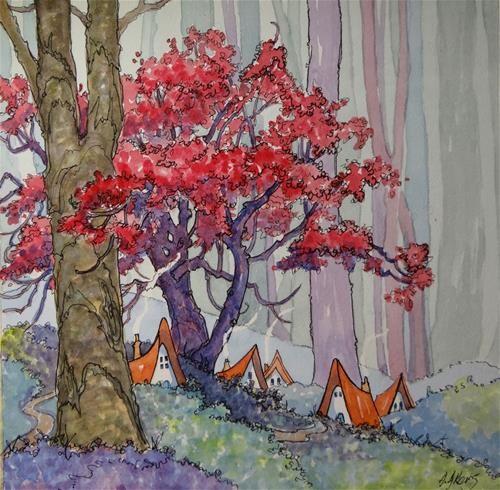 Original Fine Art For Sale: 1000+ Images About ARTIST: ALIDA AKERS On Pinterest