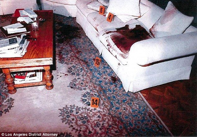 Menendez Crime Scene Murder | Crime scene: Lyle and Erik murdered their parents in August of 1989 ...