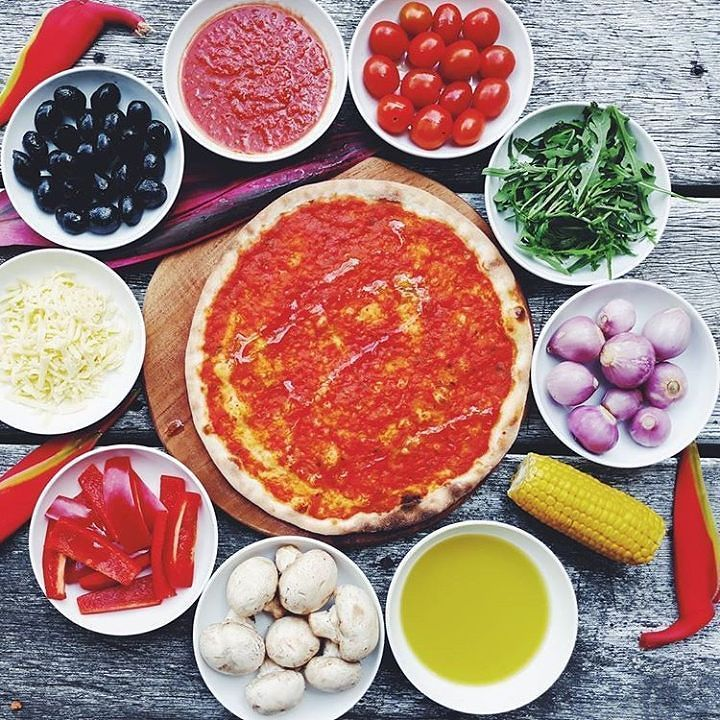 [MADES WARUNG SPECIAL] CREATE your own pizza  choose from delectable delights to complement your mood of the day! 50k onwards. @madeswarung #RaiseYourSlice  #pizzabali #canggu #berawa #pizzalife #pizzaindonesia #pizzaromana #pizzalovers#lucaspizzùabali #dough #pizzaporn #basil #tomato #pornfood #gofoodbali #gofood #seminyakfood #canggufood#canggudinner#canggupizza#baligasm#baliguide #pizza #bali