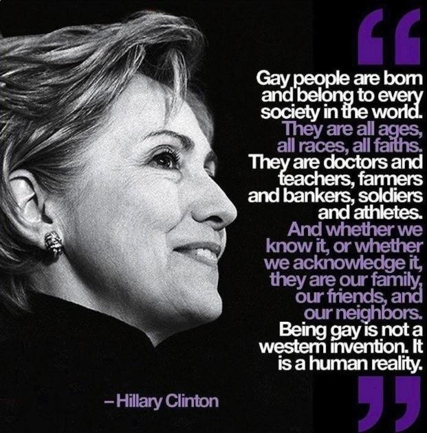 Hilary Clinton Gay 7