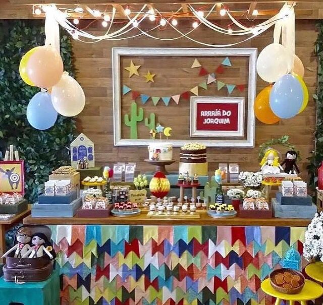 #festajunina #decoração #mesa