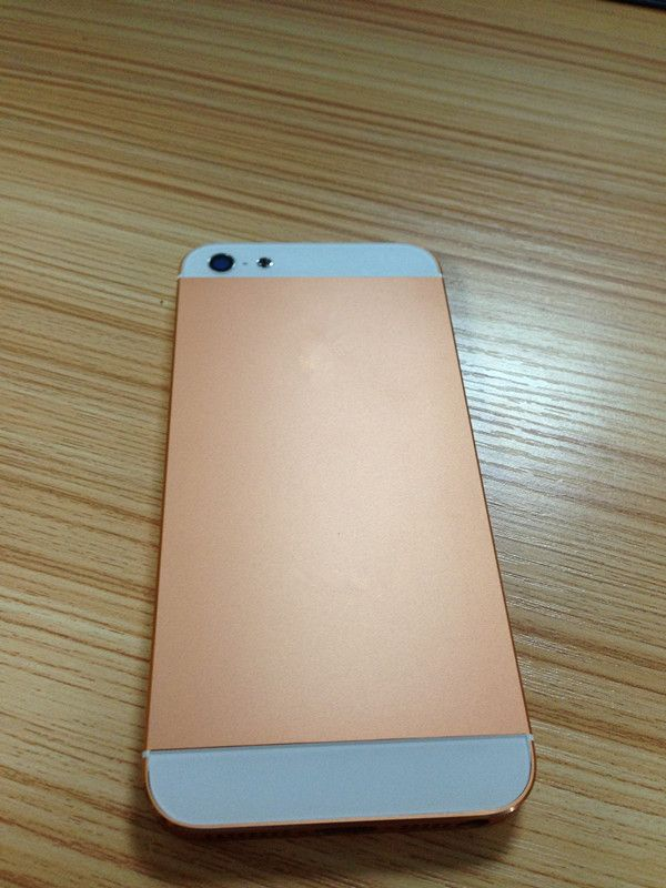 iphone 5 rose gold with small parts iphone 5 parts. Black Bedroom Furniture Sets. Home Design Ideas