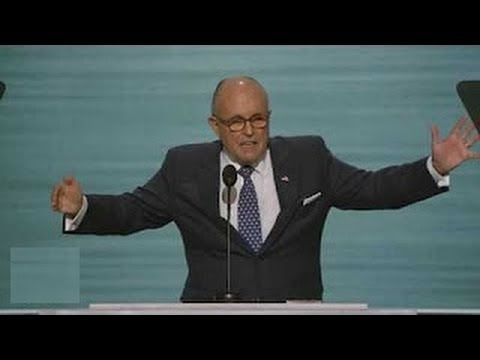 Mayor Rudy Giuliani Rousing, EXPLOSIVE Speech at Republican National Convention (7-18-16) - YouTube