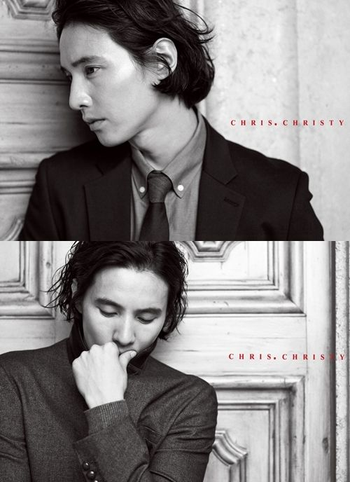 'Chris.Christy' reveals 2012 FALL advertisement campaign featuring Won Bin