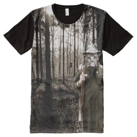 Boar hunter VZS2 All-Over-Print T-Shirt - tap, personalize, buy right now!