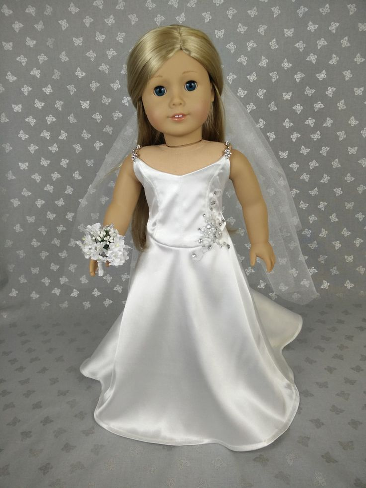80 best images about american doll on pinterest dolls for American girl wedding dress