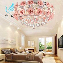 """50 см из светодиодов светильник """"crystal light"""" минималистский сад роз уютная гостиная спальня столовая люстра свадьба потолочных светильников"""