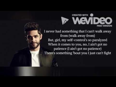 Craving You- Thomas Rhett (Ft  Maren Morris) Lyrics