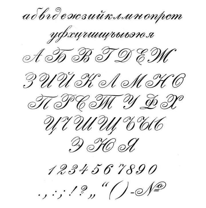 Как красиво написать буквы на открытке