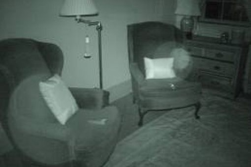 Shot of a possible ghost orb or energy field, taken by a ghost hunting group in 2010 in the Dixie Room of Duff Green bed and breakfast in Vicksburg.  For more on the Civil War era ghosts of Duff Green house, see Chapter 18 of Ghosts and Haunts of the Civil War:  http://www.goodreads.com/book/show/71986.Ghosts_and_Haunts_of_the_Civil_War