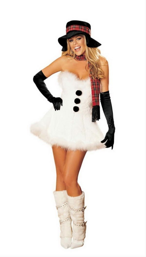 64 Awesome Christmas Costumes For Women Snowman Costume