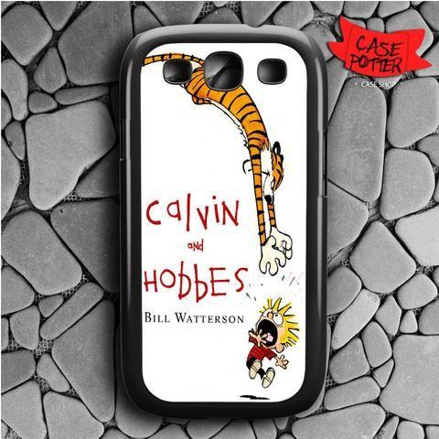 Calvin And Hobbes Bill Watterson Samsung Galaxy S3 Black Case