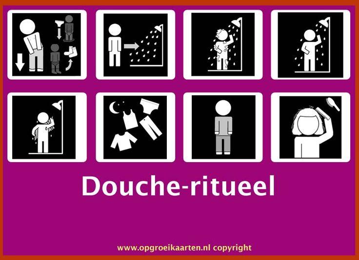 dagritmekaart handen wassen - gratisbeloningskaart.nl