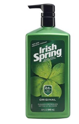 Irish Spring Coupon: Score $1 Off Irish Spring Body Wash Score $1 off any one Irish Spring body wash with our Irish Spring coupon. Its always good to save