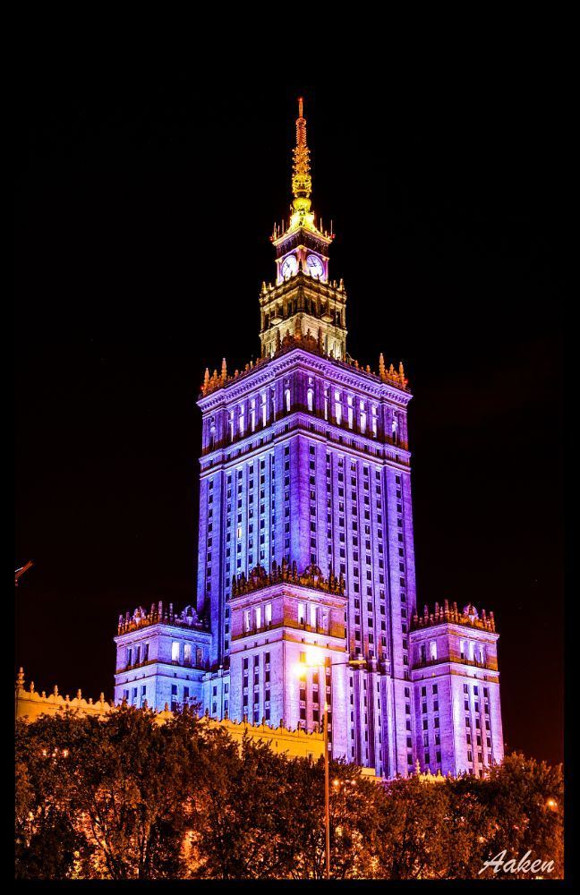 Palace of Culture and Science by Norbert Kamiński