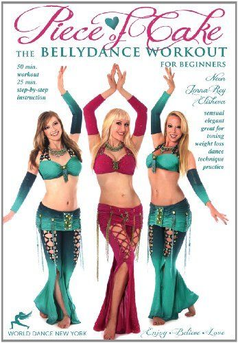 Piece of Cake - A Belly Dance Workout for Beginners, with Neon: Bellydance instruction, Beginner how-to, complete belly dance fitness class DVD ~ Neon, http://www.amazon.com/dp/B008AY5FDK/ref=cm_sw_r_pi_dp_1ohZrb1SRJ7HG