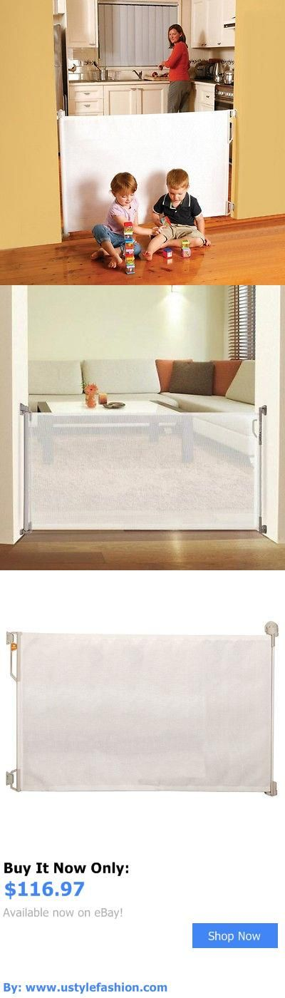 Baby Safety Gates: Toddler Safety Retractable Gate Child Baby Pet Dog Barrier Easy Indoor Outdoor BUY IT NOW ONLY: $116.97 #ustylefashionBabySafetyGates OR #ustylefashion