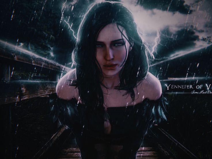 The Witcher 3 Wild Hunt, Game, Girl, Art Wallpaper