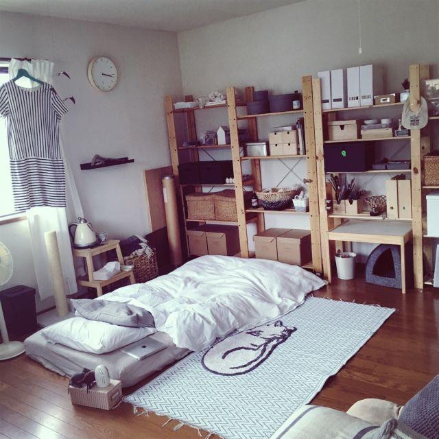 一人暮らし部屋の作り方!必要な家具・家電とレイアウト実例