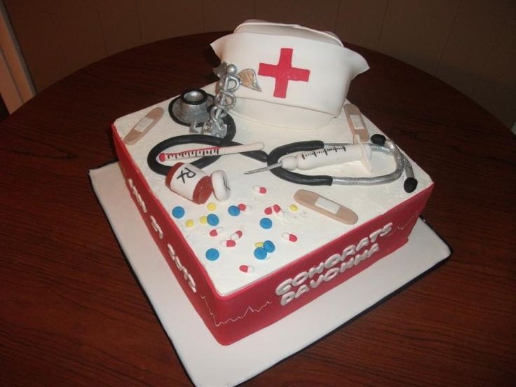 Nurse Cake Decorating Kit : 32 best images about APRN Grad Party! on Pinterest ...