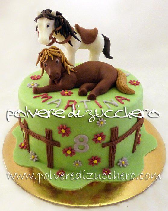 cake horses - Cake by Paola