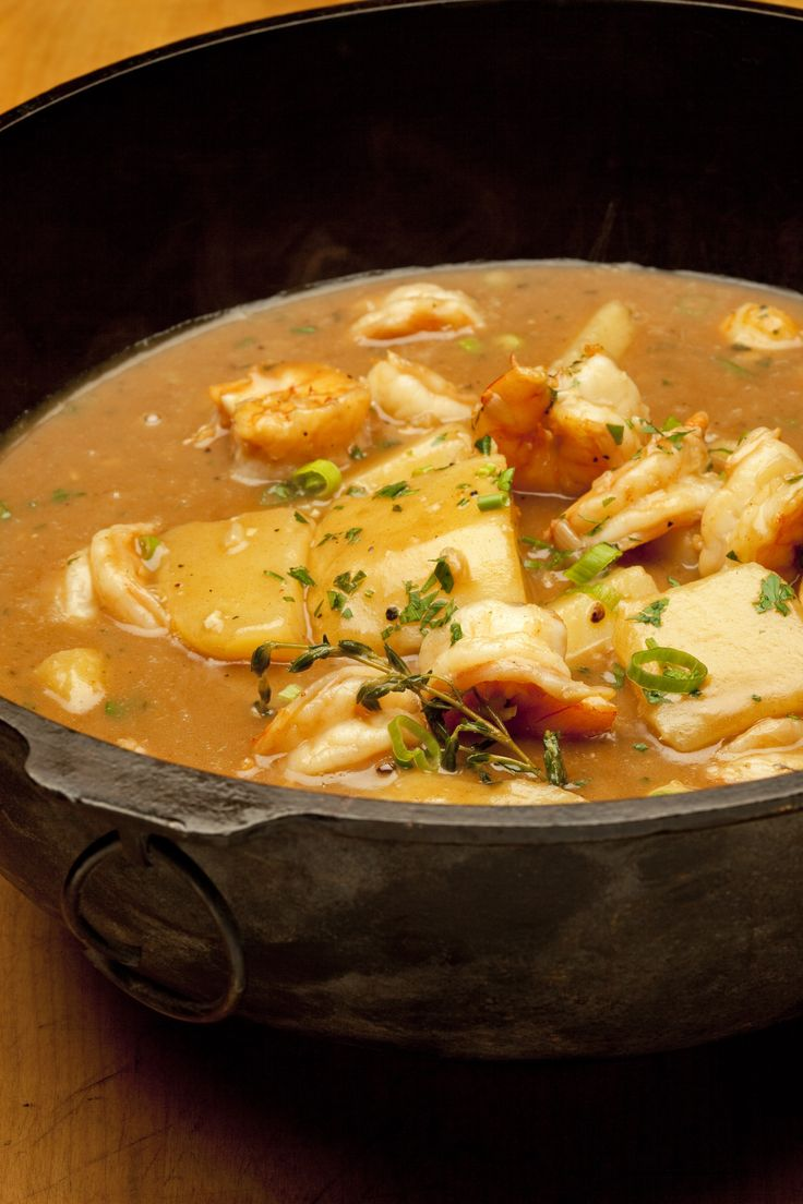 This comforting, simple stew is a Cajun dish that many home cooks in Louisiana enjoy. It is easy to make and feeds a bunch.