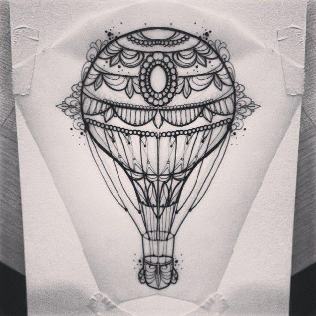 Hot Air Balloon (thigh?)