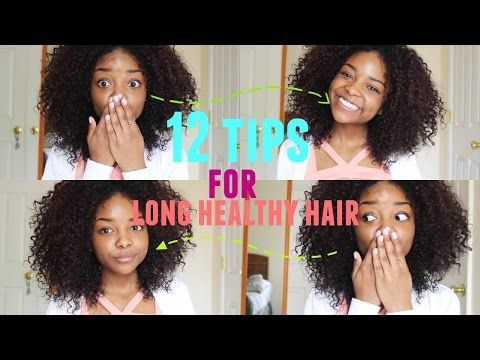 How to Grow your Hair FAST! ♡ Natural Curly Hair with Heat Damage! - Lana Summer - YouTube