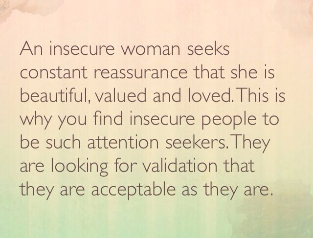 Quote about insecure people